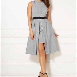 Eva Mendes Green Freya Dress